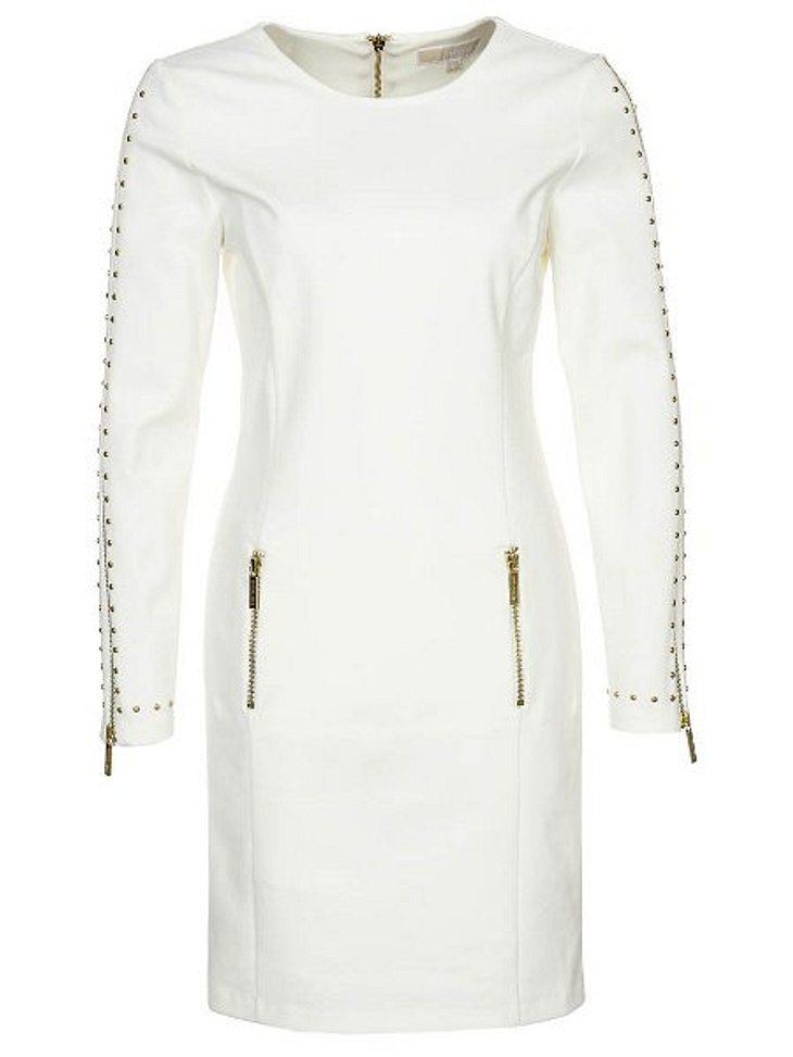 Klau den Look von Carmen GeissWeniger offenherzig ist das Kleid von Michael Kors, um 219,95 Euro