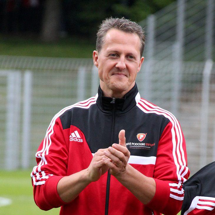Michael Schumacher hat eine Facebook-Seite