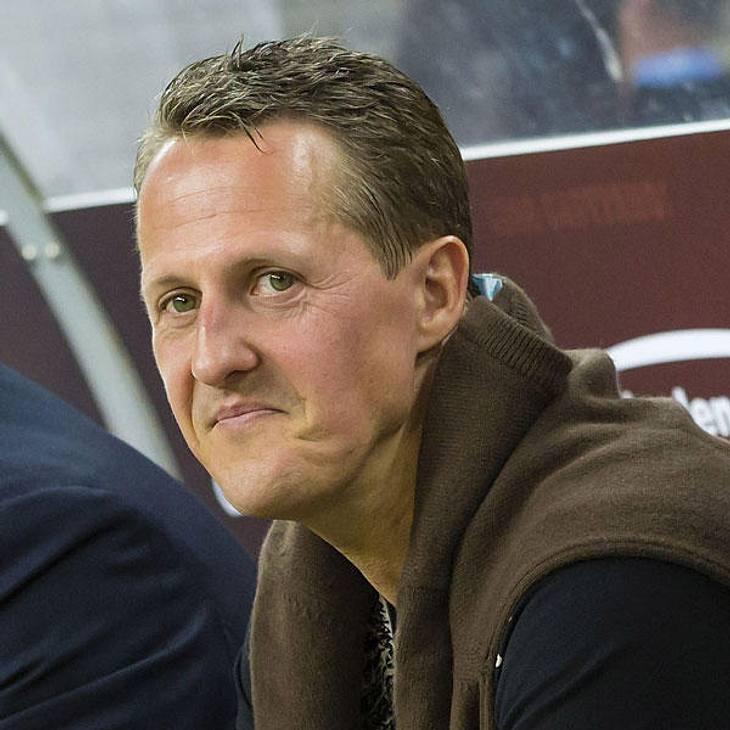 Michael Schumacher - große Freude über Nachwuchs