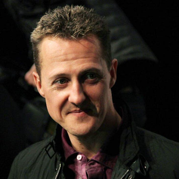 Michael Schumacher wird langsam wach