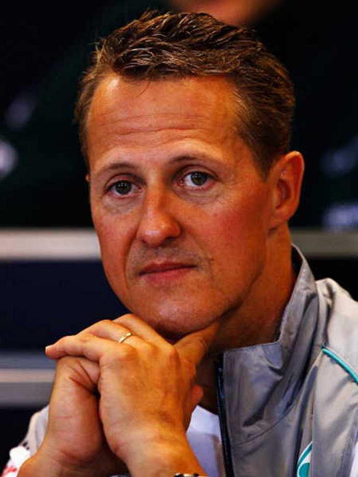 War die Helmkamera von Michael Schumacher schuld?