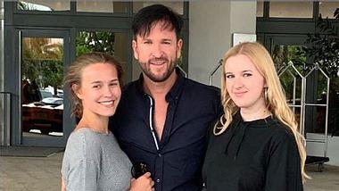 Michael Wendler mit Freundin Laura und Tochter Adeline - Foto: Instagram/ wendler.michael