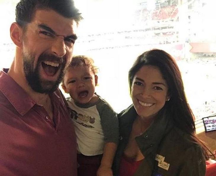 Michael Phelps ist Vater geworden