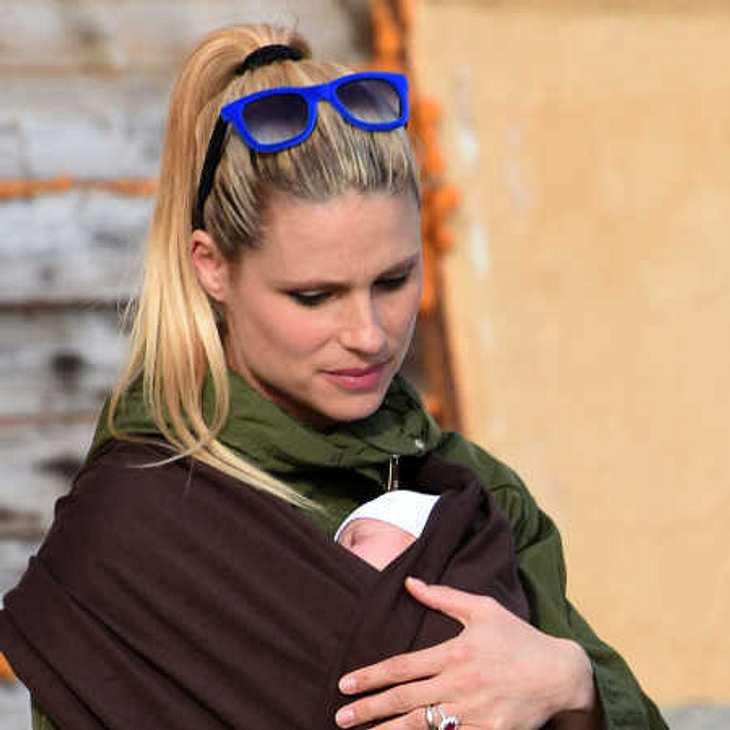 Michelle Hunziker: Ganz vernarrt in Baby Celeste!