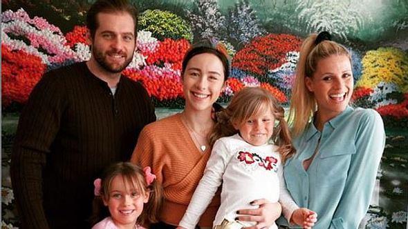Michelle Hunziker und ihre Familie - Foto: Instagram/ therealhunzigram