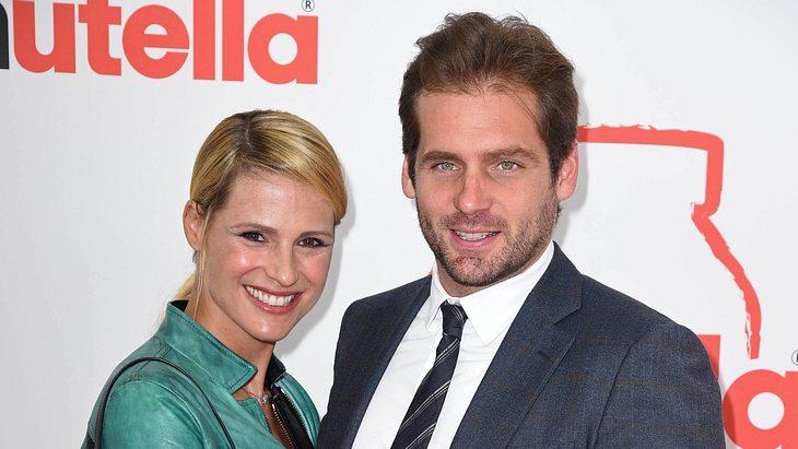Michelle Hunziker und Mann Trussardi