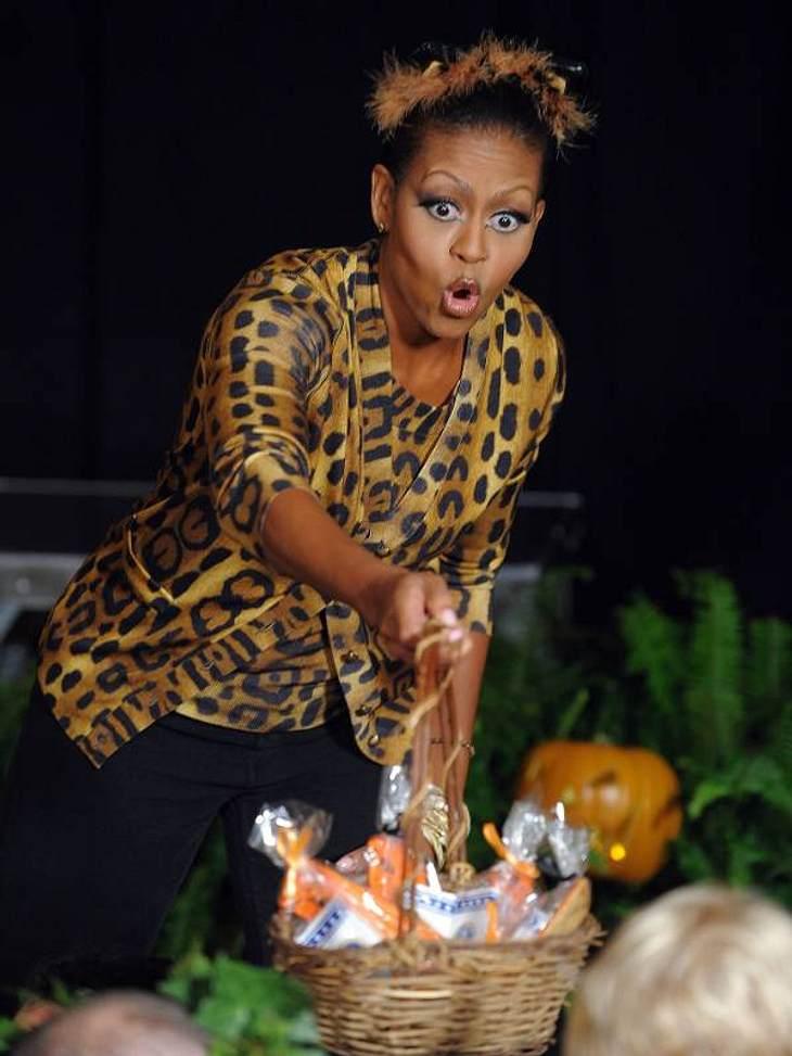 """Jahresrückblick 2012 - Die besten Zitate """"Unser Hund Bo hat einen straffen Terminplan und super viele Auftritte. Ich habe schon darübernachgedacht, für ihn einen Agenten anzuheuern."""" Michelle Obama (48) ,"""