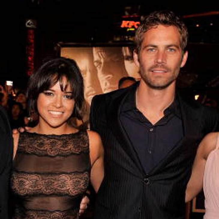 Michelle Rodriguez Scott Eastwood aul Walker
