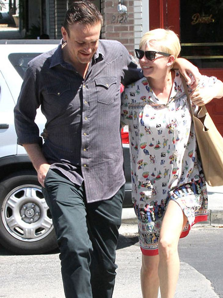 Michelle Williams & Jason Segel sind sooo verliebt
