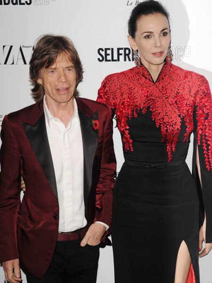 Mick Jagger mit L'Wren Scott (†49)