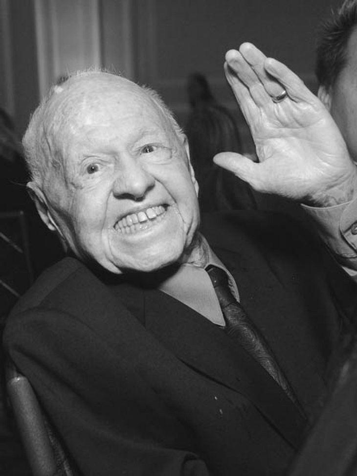 Mickey Rooney ist im Alter von 93 Jahren gestorben.