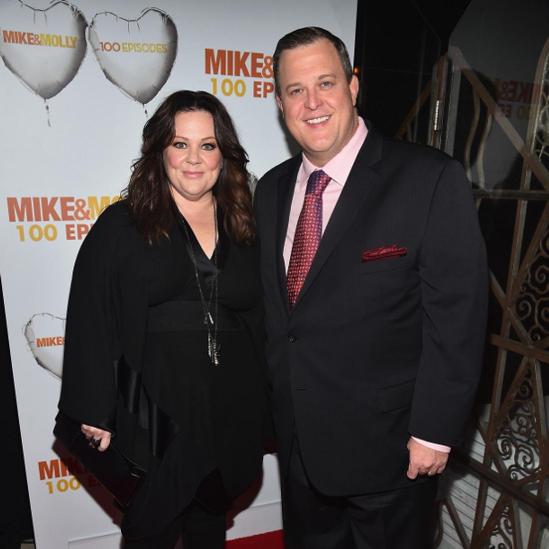 Melissa McCarthy und Billy Gardell