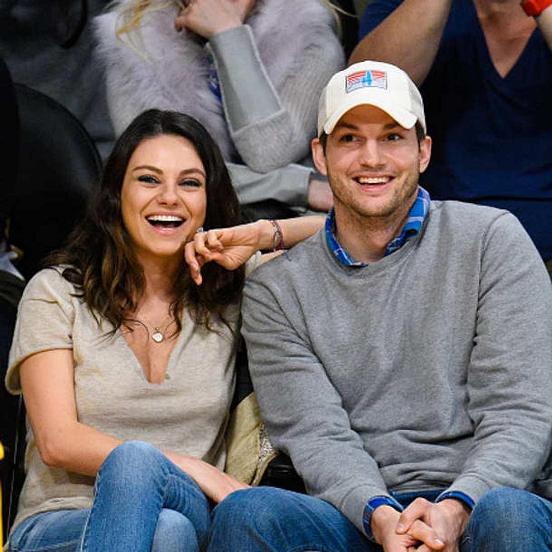 Mila Kunis Ashton Kutcher schwanger Baby