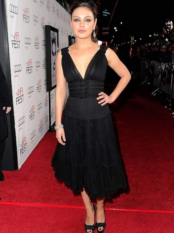 Sie werden von Schauspielerin Mila Kunis gertragen.