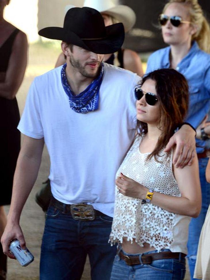 Mila Kunis zeigt ihren Baby-Bauch