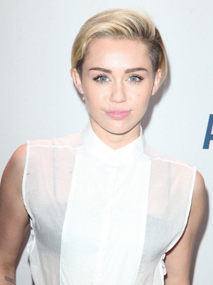 Miley Cyrus hat Angst vor dem Alleinsein!