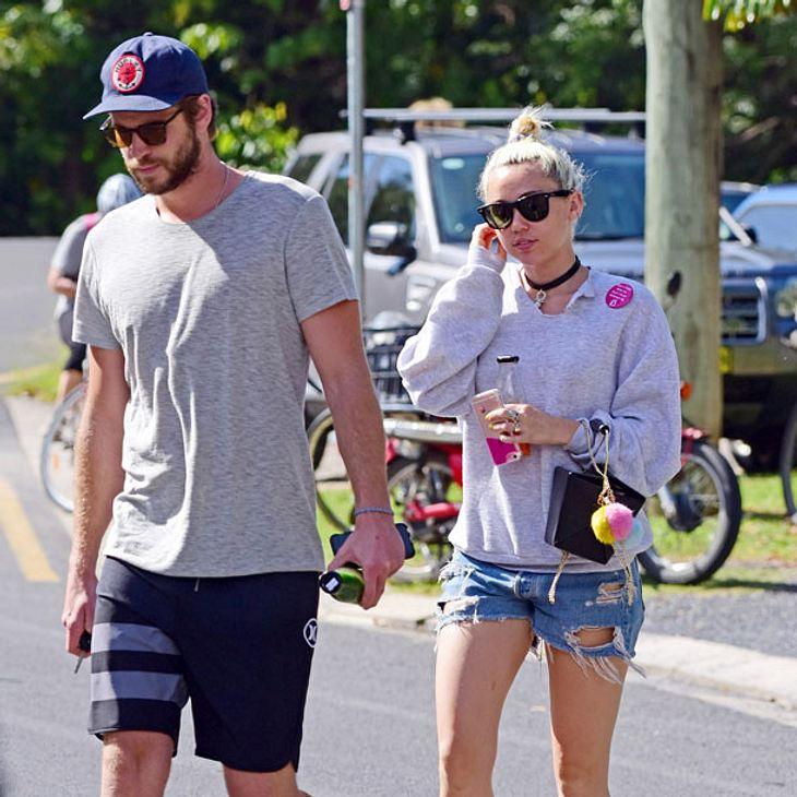 Miley Cyrus und Liam Hemsworth: Fällt die Hochzeit ins Wasser?