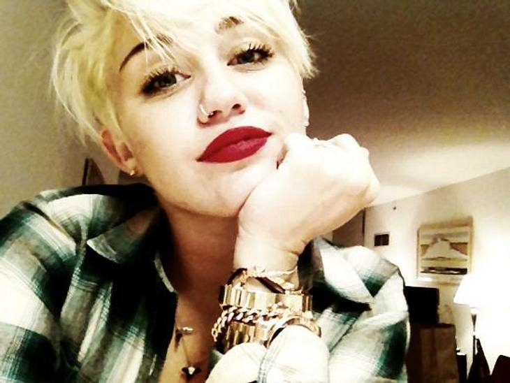 Miley Cyrus ist glücklich mit ihrer neuen Frisur