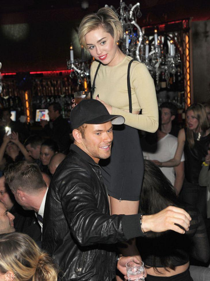 Miley Cyrus und Kellan Lutz am Wochenende in Las Vegas