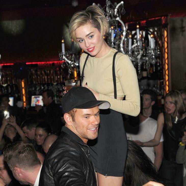 Miley Cyrus und Kellan Lutz verbrachten in den vergangenen Wochen viel Zeit miteinander. Doch jetzt ist schon wieder alles vorbei.