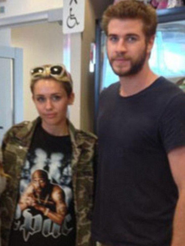 Miley Cyrus und Liam Hemsworth zusammen in Kanada