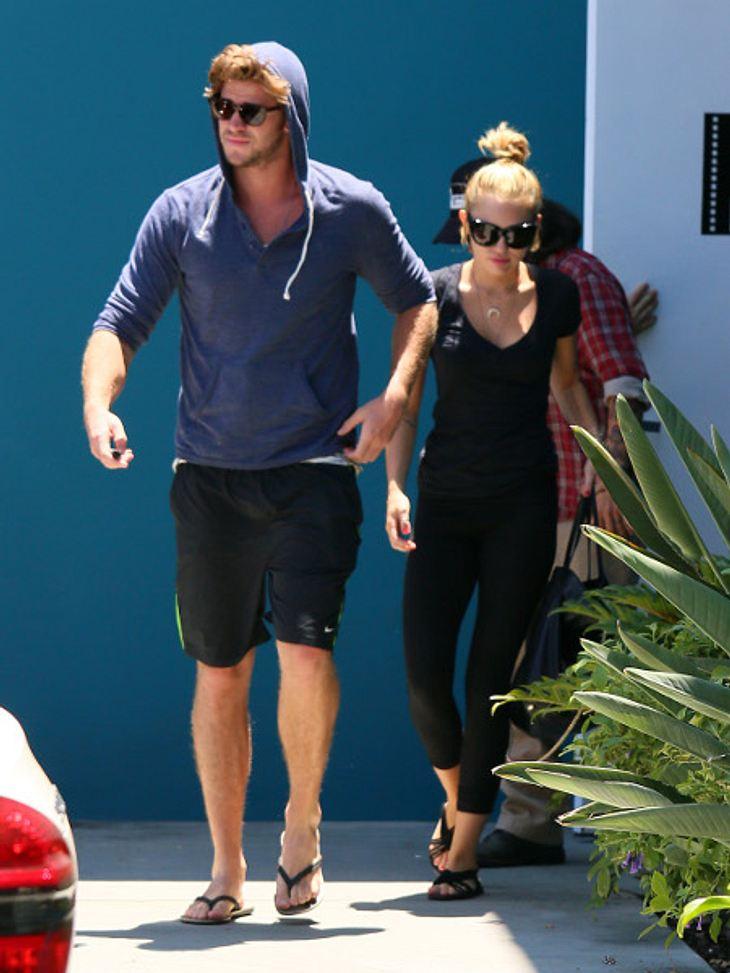 Miley und Liam wurden bei einem Date gesichtet.