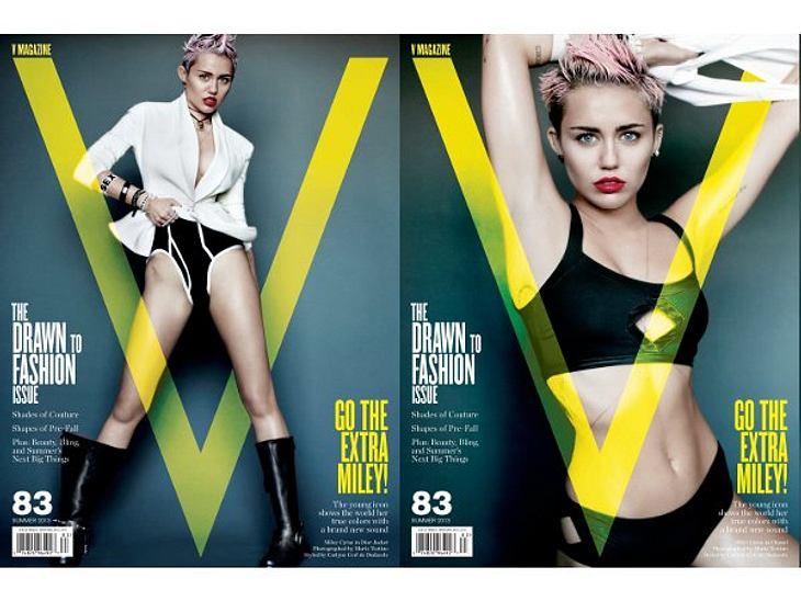 undefined Miley Cyrus zieht sich für Mario Testino aus