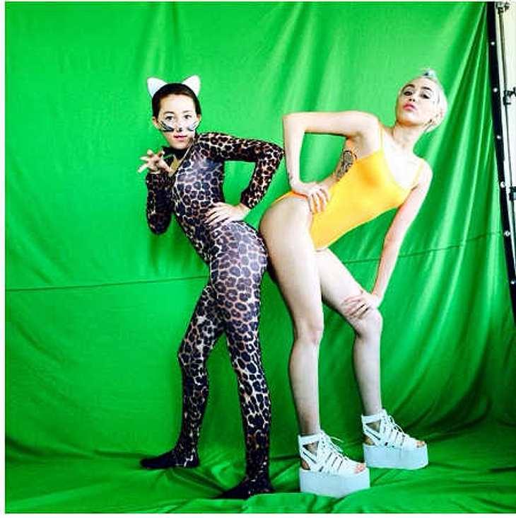Miley Cyrus: Vorbild für Schwester Noah