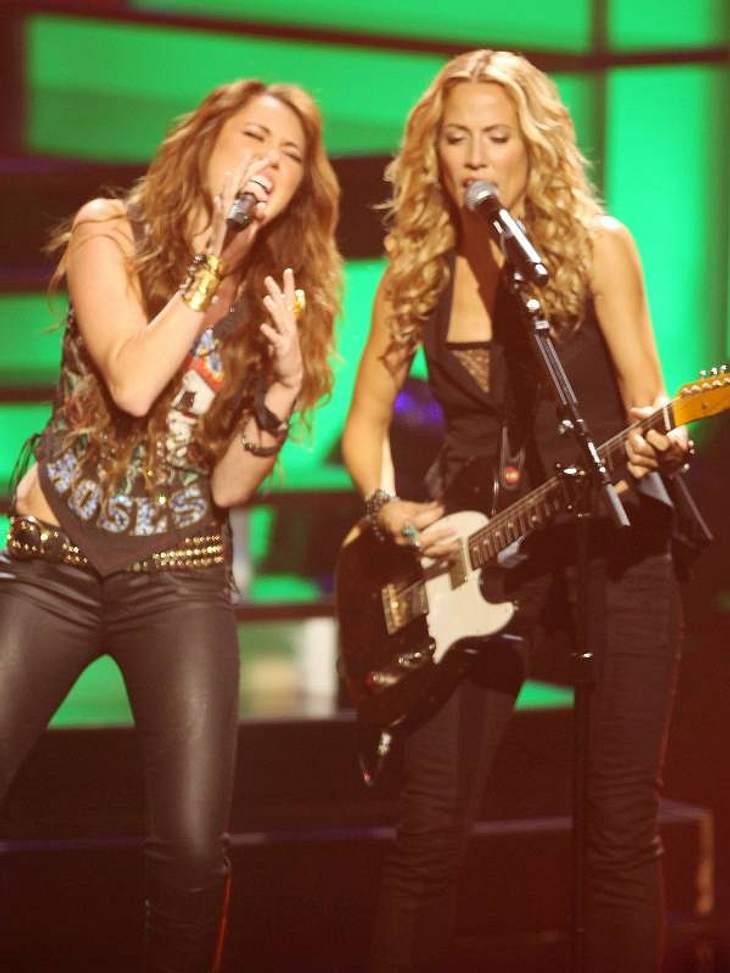 Bei den VH1-Divas sang sie gemeinsam mit Sheryl Crow - ein großes Duett für den Teenie-Star Miley Cyrus.