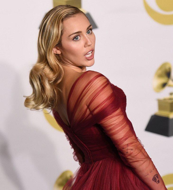 Miley Cyrus in Todesangst