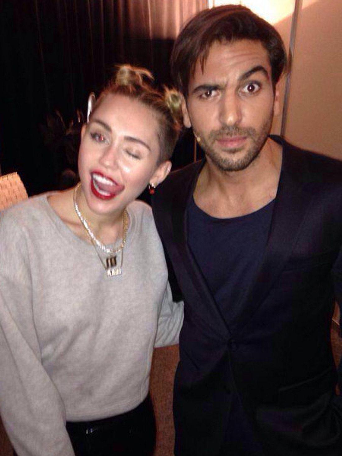 Posing-Profis Miley und Elyas