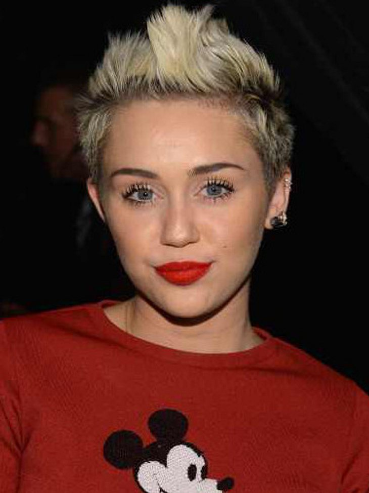 Miley Cyrus: Sie kifft also doch!
