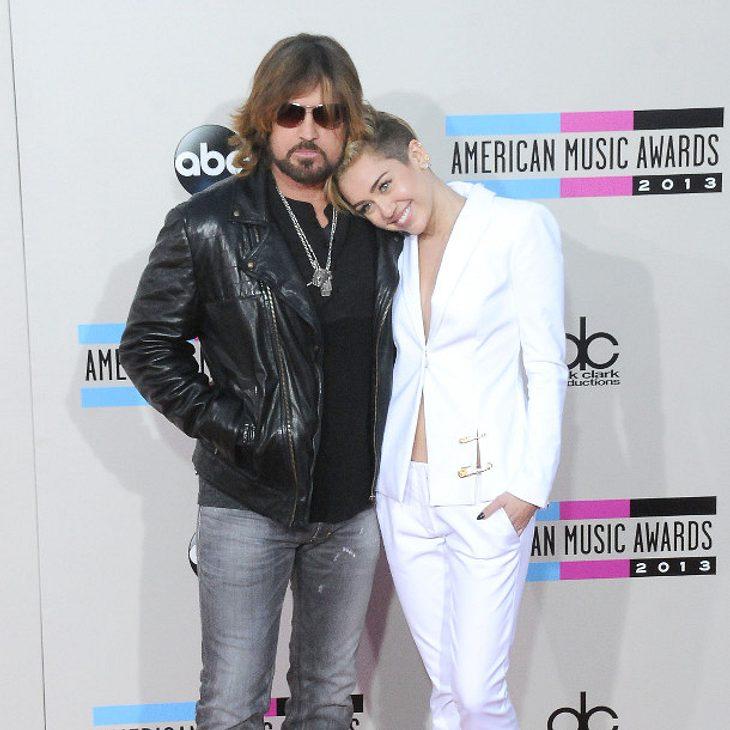 Miley Cyrus und ihr Vater Billy Ray Cyrus