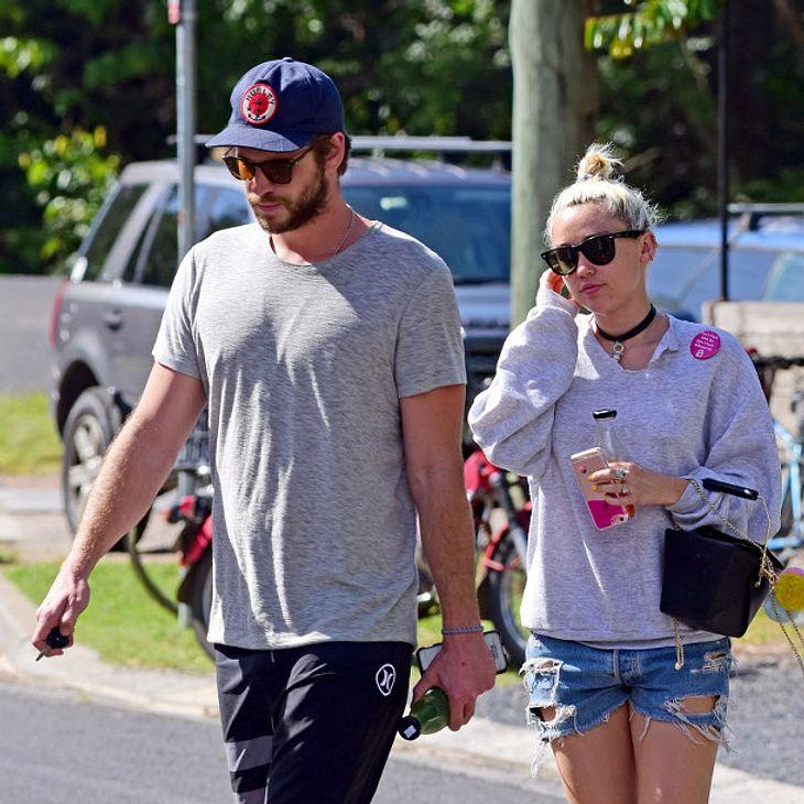 Kriegt Miley Cyrus kalte Füße und sagt die Hochzeit mit Liam Hemsworth ab?