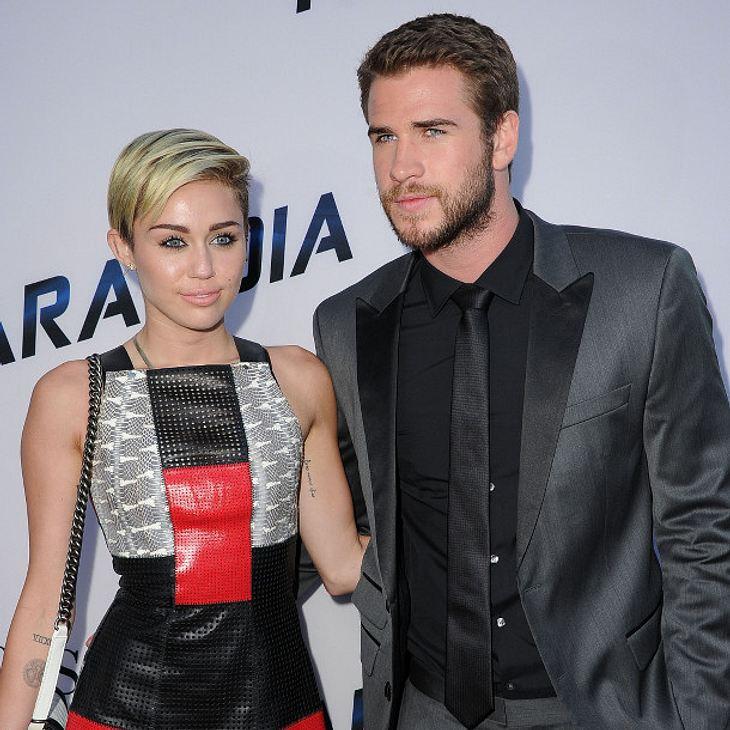Miley Cyrus und Liam Hemsworth zeigen öffentlich ihre Liebe