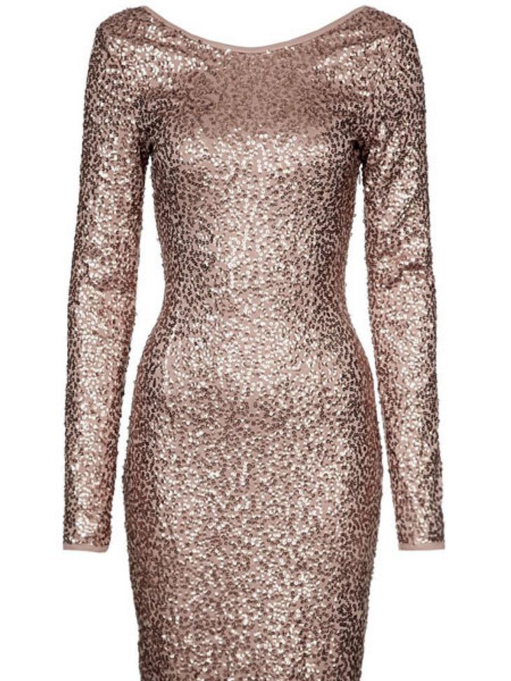 Der Premieren-Look von Kristen StewartPailletten-Kleid von Mint&Berry, 54,95 Euro