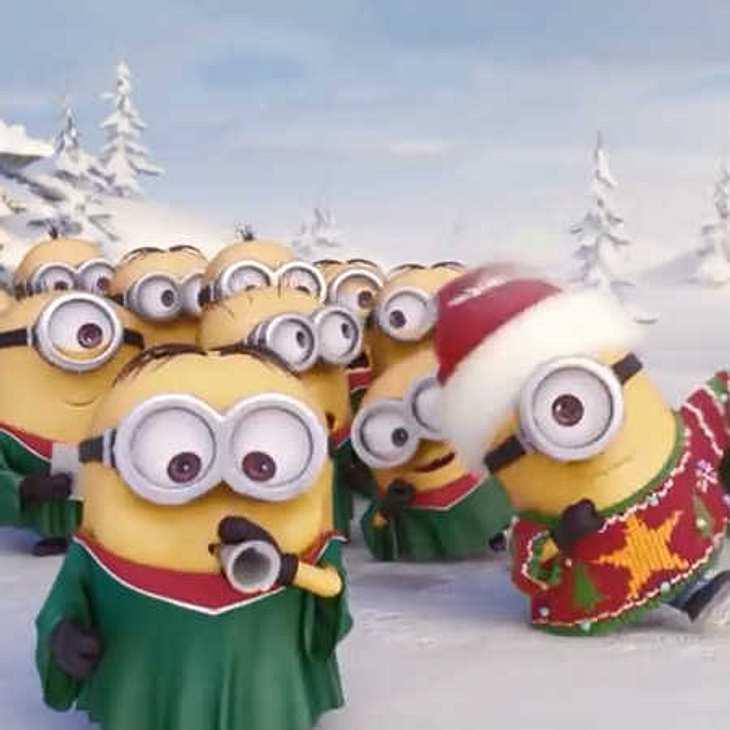 Minions: So süß feiern sie Weihnachten!