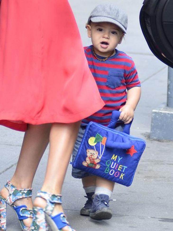 Die süßesten Promi-KinderAber der kleine Flynn muss sich nicht hinter seiner berühmten Mutti verstecken. Denn das kleine Kerlchen ist besonders süß.