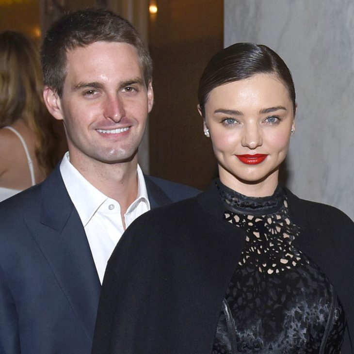Heiratet Miranda Kerr Evan Spiegel?