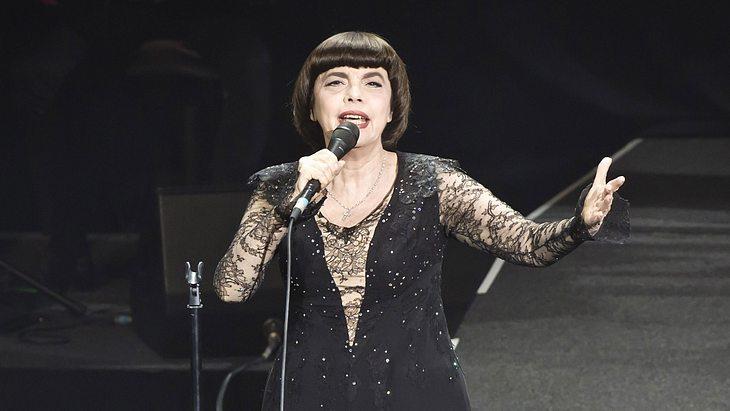 Sängerin Mireille Mathieu