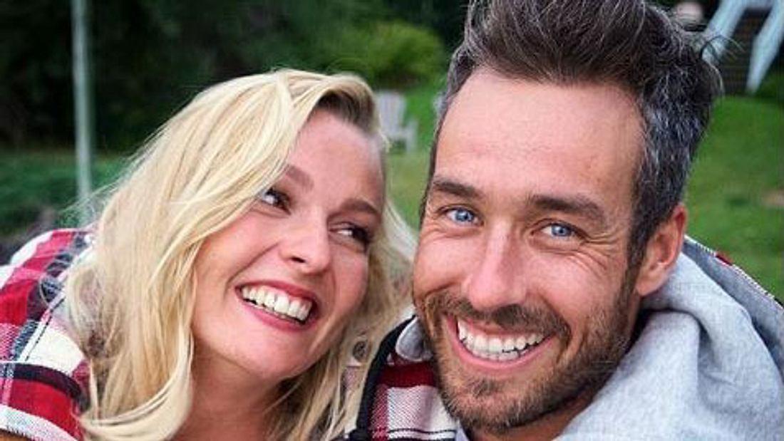 Miriam Höller und Freund Nate Herbert