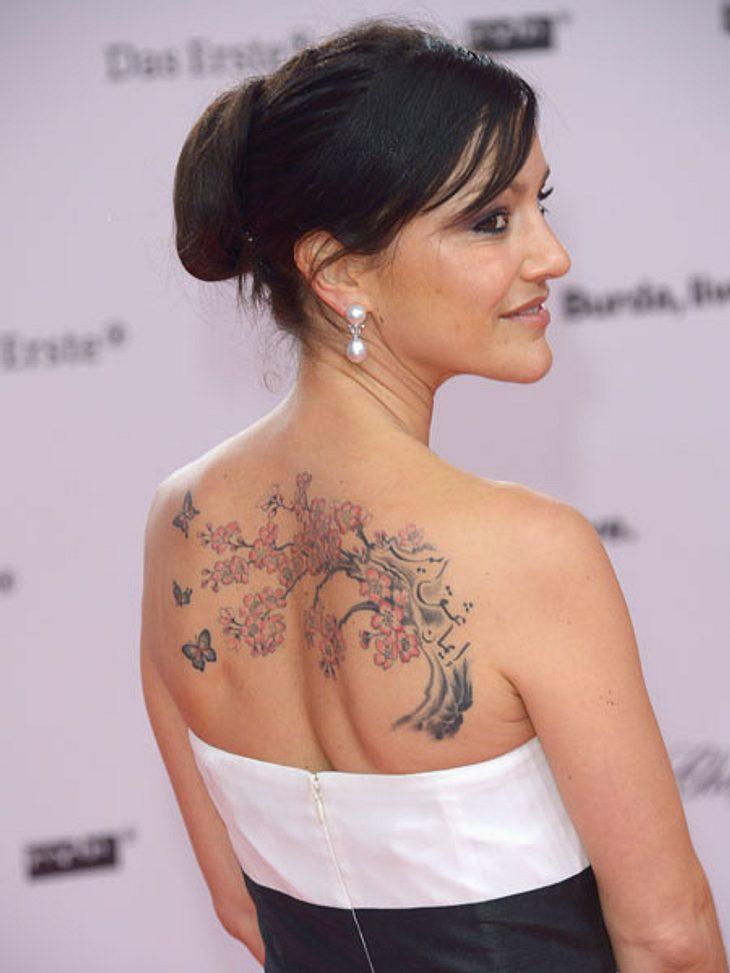 Miriam Pielhau zeigt ihr XXL-Tattoo