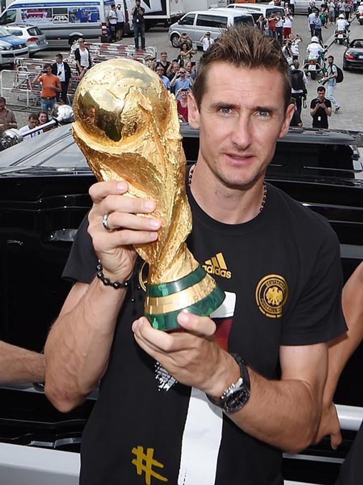 Nach der WM macht Miroslav Klose Schluss