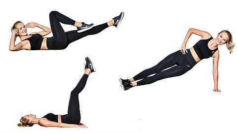 Hot Body Workout in 7 Minuten mit Miss Germany Nadine Berneis!