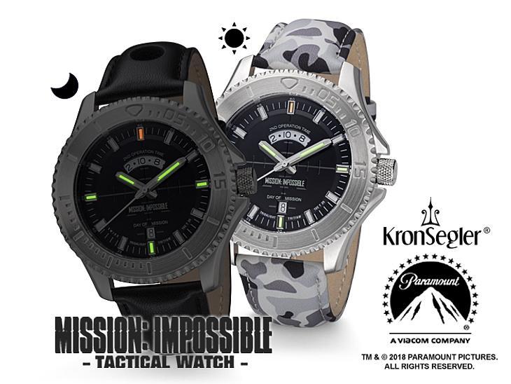 Gewinne KronSegler Mission Impossible Tritium H3 Uhr
