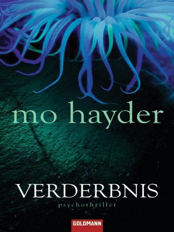 """Mo Hayder: VerderbnisThriller, Goldmann Verlag, ca. 19.99Darum geht's in """"Verderbnis"""": Auf dem Parkplatz eines Supermarktes in Bristol wird ein Auto geklaut. Nichts ungewöhnliches, doch auf dem Rücksitz befindet sich die elfjährig"""