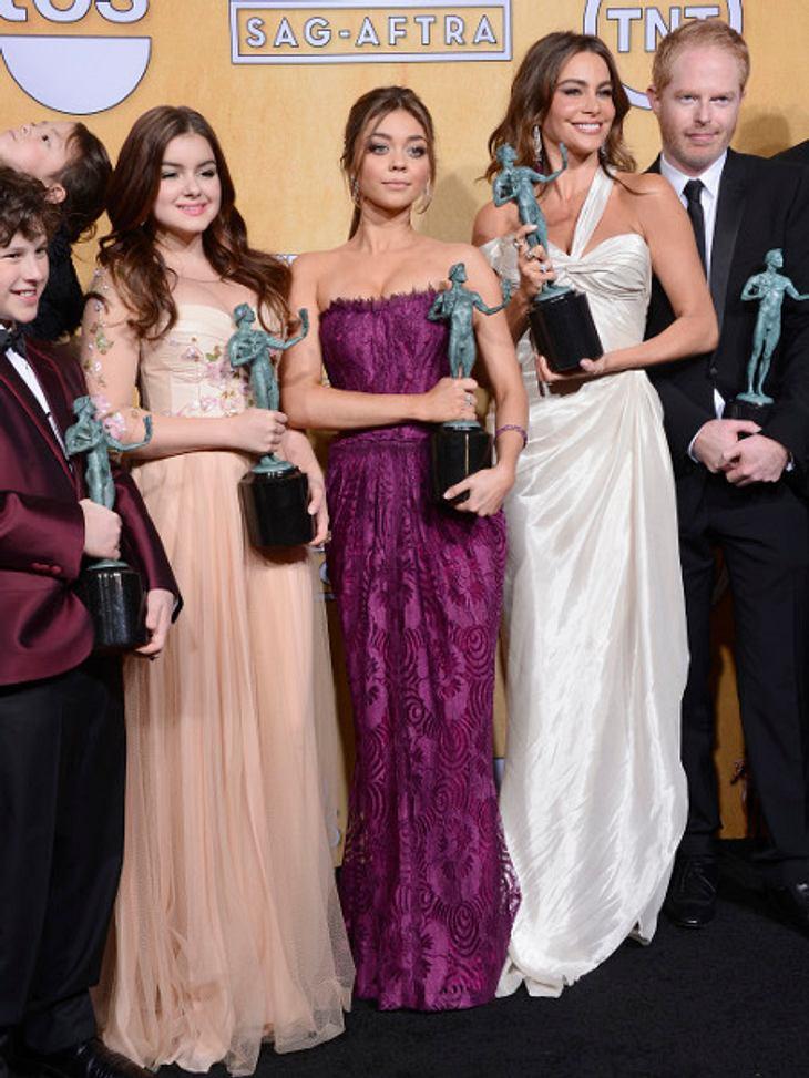 """Der Cast von """"Modern Family"""" freut sich auf eine Verlängerung."""