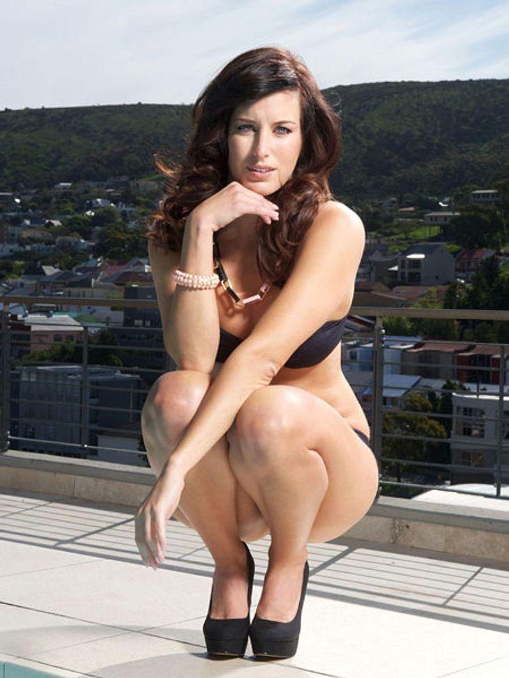 """""""Bachelor 2013"""": Bikini-Rätsel der Kandidatinnen - Wer ist das Playmate?Die Mannheimerin wirkt wie ein Profi vor der kamera. Kann es ein, dass sie das Playmate ist?"""