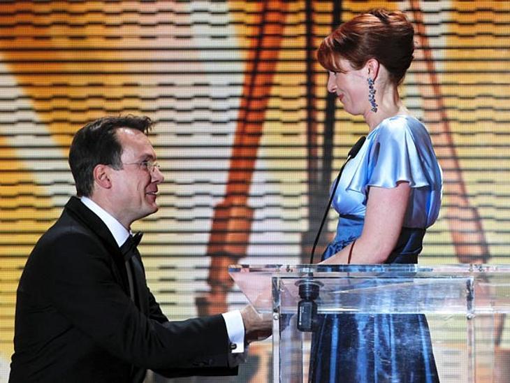 Monica Lierhaus und Rolf Hellgardt im Jahr 2011