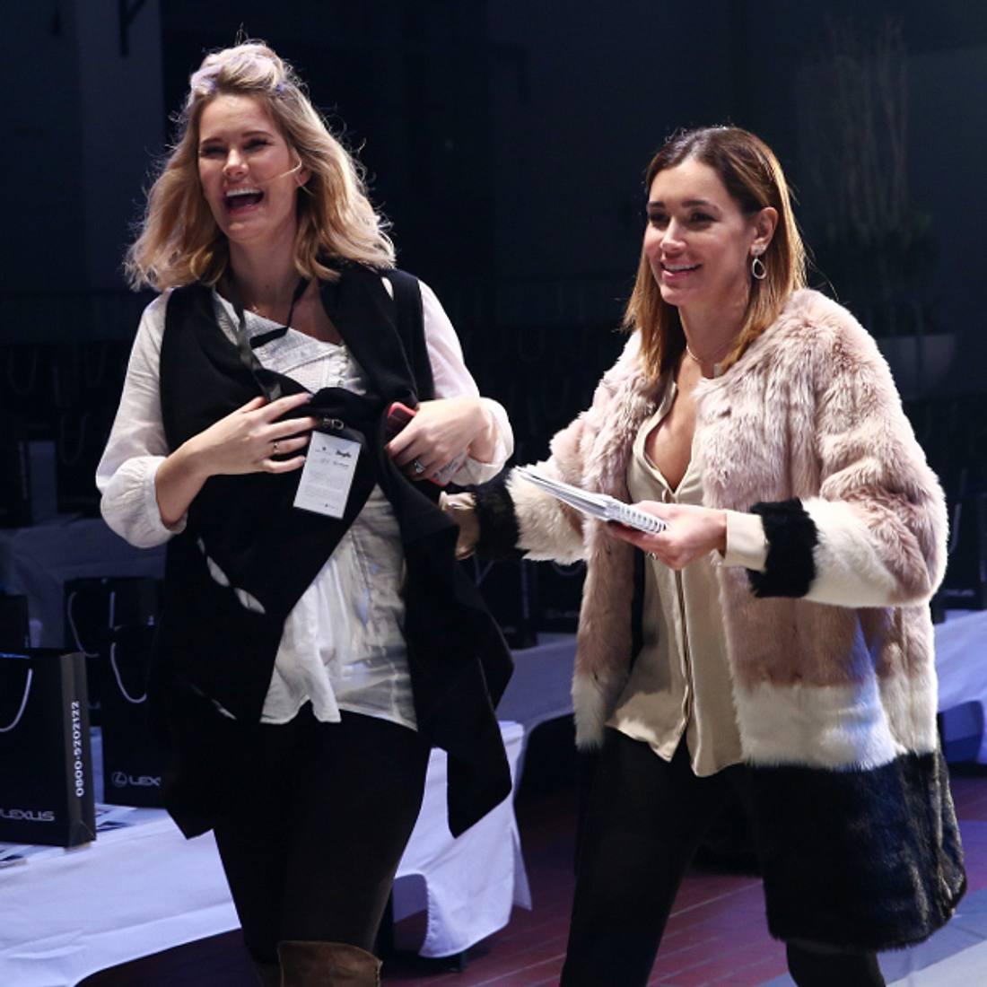 Jana Ina Zarrella und Monica Invancan sprechen über ihre Freundschaft